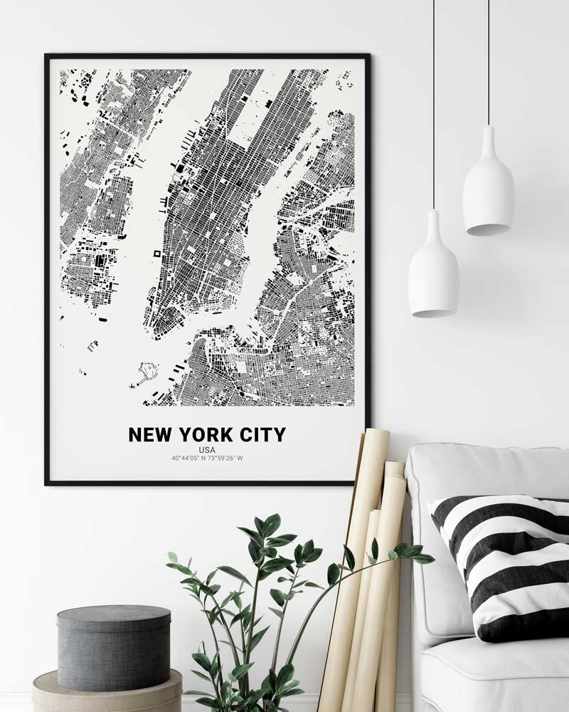 Cartida - Your individual poster of your favorite place